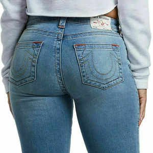 True Religion Women's Skinny Stretch Jeans (26)